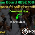 RBSE 10th Result 2020 Name Wise, Rajasthan Board 10th Result 2020, Rajasthan Board Secondary Results, indiaresults, RBSE Result, BSER 10th Result 2020