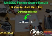 UKSSSC Forest Guard Result 2020 Download UKSSSC Van Aarakshi Result Name Wise – Download UKSSSC Forest Guard Exam Result, Cutoff & Merit List 2020. The Result Date Of UKSSSC Forest Guard Exam is October 2020. This UK Forest Guard Result 2020 can be accessed from uksssc official website.