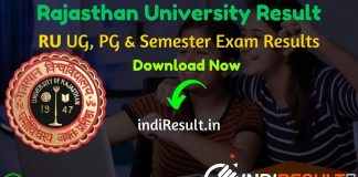 Uniraj Result 2020 Download Name Wise Rajasthan University Result BA, B.Com, B.Sc, M.A, M.Com, M.Sc Results Rajasthan University Result 2020 result.uniraj.ac.in University of Rajasthan UG & PG Result 2020. The Rajasthan University has successfully conducted UG, PG & Semester Exams in September 2020.