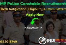 MP Police Constable Recruitment 2021 - Check MP Vyapam 4000 GD Constable & Radio Constable Vacancy Notification, Eligibility Criteria, Salary, Age Limit, Educational Qualification and Selection process.