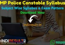 MP Police Constable Syllabus 2021 – New MP Constable Syllabus Pdf download in Hindi. MP Police Syllabus Pdf, MP Constable Exam Pattern Pdf, MPPEB Syllabus