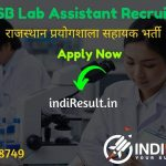 RSMSSB Lab Assistant Recruitment 2020 : Check RSMSSB Rajasthan Lab Assistant Vacancy Notification, Eligibility Criteria, Age Limit, Educational Qualification and selection process. Rajasthan Subordinate and Ministerial Services Selection Board will invite online application to fill 1700 vacancy of Prayogshala Sahayakposts.