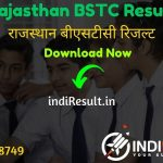 Rajasthan BSTC Result 2021 - Download Rajasthan Pre D. El. Ed Result, predeled.com Result Cut off & Merit List 2021. The Result Date Of Rajasthan BSTC Exam