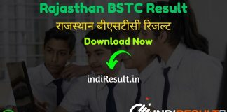 Rajasthan BSTC Result 2020 - Download Rajasthan BSTC 2020 Exam Result, Cutoff & Merit List 2020. The Result Date Of Rajasthan BSTC Exam is 07 October 2020. Candidates can check their BSTC Rajasthan Result 2020 at official website predeled.com . This Rajasthan BSTC Pre Deled Exam 2020 was conducted on 31 August 2020. Aspirants can check BSTC Result name wise and roll number wise.