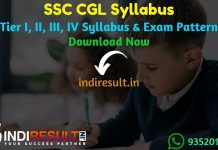 SSC CGL Syllabus 2020-21 Pdf Download - Check SSC CGL Exam Pattern & Syllabus for Tier I, II, III, IV Exam. Download SSC CGL Syllabus PDF in Hindi & English, Important Books & Previous Question Papers here.