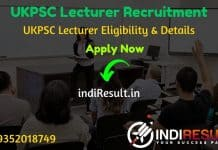 UKPSC Lecturer Recruitment 2020 - Check UKPSC 571 Lecturer Vacancy Notification, Eligibility Criteria, Salary, Age Limit, Educational Qualification ,Salary & selection process. Uttrakhand Public Service Commission invites online application to fill 571 vacancy of Lecturer posts.