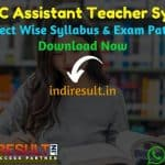 UKSSSC LT Grade Teacher Syllabus 2020 – Check UKSSSC LT Teacher Syllabus, Exam Pattern,Subject Wise Detailed Syllabus in Hindi & English pdf. Download UKSSSC Syllabus Of LT Teacher Exam, Important Books & Old Papers Here.