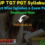 UP TGT PGT Syllabus 2021 - UPSESSB TGT PGT Syllabus Pdf Downoad in Hindi/English, UP TGT PGT Teacher Syllabus Pdf Social Science, Commerce, Maths, Biology.
