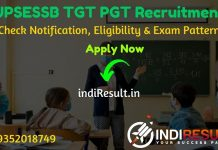 UPSESSB TGT PGT Recruitment 2020 - Check UP 15508 TGT PGT Teacher Vacancy Notification 2020, Eligibility Criteria, Age Limit, Educational Qualification and Selection process. Uttar Pradesh Madhyamik Shiksha Sewa Chayan Board upsessb invites Online application to fill 12913 vacancies for UP TGT and the remaining 2595 vacancies for UP PGT Posts.