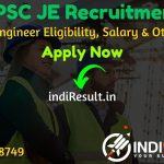 PPSC JE Recruitment 2020 - Check Punjab PSC 85 Junior Engineer Vacancy Notification, Eligibility Criteria, Age Limit, Educational Qualification and selection process. Punjab Public Service Commission invites online application to fill vacancy of 85 Junior Engineer (JE) posts.