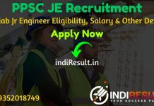 PPSC JE Recruitment 2021 - Apply Punjab PPSC 612 Junior Engineer Civil Vacancy Notification, Eligibility Criteria, Age Limit, Salary, Qualification, Form.