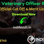 RPSC Veterinary Officer Result 2020 - Download RPSC VO Exam Result, Cutoff & Merit List 2020. The Result Date Of RPSC Veterinary Officer Exam 26 November 2020. This RPSC Veterinary Officer Exam Result 2020 can be accessed from RPSC's official website