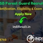 RSMSSB Forest Guard Recruitment 2020 - Check RSMSSB Rajasthan Forest Guard Vacancy Notification, Eligibility Criteria, Age Limit, Educational Qualification and selection process.