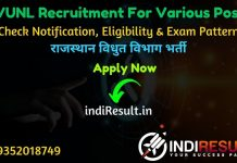 RVUNL Recruitment 2021 - Rajasthan Vidyut Vibhag will publishe recruitment notification pdf for RVUNL JVVNL JEN , PA, Junior Accountant, Junior Assistant/Commercial Assistant, IA, Steno, AEN, Chemist, JPA, Technical Helper, Helper 2nd and other posts.
