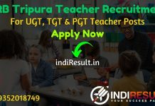 TRB Tripura Teacher Recruitment 2020 - Teachers Recruitment Board Tripura 4080 UGT, TGT & PGT Vacancy Notification, Eligibility Criteria, Salary, Age Limit, Educational Qualification and selection process.