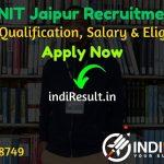 MNIT Jaipur Recruitment 2021 - Apply Online For MNIT Jaipur Librarian, Deputy Registrar, Assistant Registrar Notification, Eligibility Criteria, Salary.