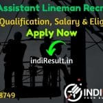 PSTCL Assistant Lineman Recruitment 2021 - Apply PSTCL 500 Assistant Lineman, Assistant Sub Station Attendant Vacancy Notification, Eligibility, Salary.