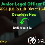 RPSC JLO Result 2021 - Download RPSC JLO Final Result, Cut Off & Merit List 2021. The Result Date Of RPSC JLO Interview Exam is 16 April 2021. RPSC Results