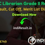 RPSC Librarian Result 2020 - Download RPSC Librarian Grade 2 Result, Cut Off & Merit List Pdf. The RPSC Result Date Of Librarian 2nd Grade Exam 05 November.