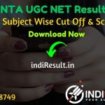 UGC NET Result 2020 - The UGC NET June 2020 Result declared on official website ugcnet.nta.nic.in. NTA released category-wise cut off marks for each subject on the official website. Check result here.
