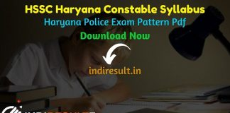Haryana Police Constable Syllabus 2021 - Download Haryana Constable Syllabus pdf in Hindi. HSSC Constable Exam Pattern.Haryana Police Syllabus pdf in Hindi.