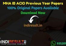 IB ACIO Previous Year Papers - Download IB ACIO Previous Question Papers, MHA IB ACIO Old Papers,IB ACIO Previous Year Question Papers pdf, IB ACIO Papers.