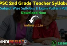 RPSC 2nd Grade Syllabus 2021 - Check RPSC 2nd Grade Teacher Syllabus pdf in Hindi & Exam Pattern, Download RPSC Second Grade Teacher Syllabus pdf books.