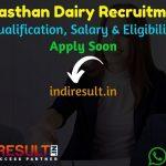 Rajasthan Cooperative Dairy Recruitment 2021 - Rajasthan Cooperative Dairy Apply Online For Rajasthan Cooperative Dairy Vacancy,Raj Co operative Dairy Jobs