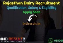 Rajasthan Cooperative Dairy Recruitment 2021 - Rajasthan Cooperative Dairy Apply Online For Rajasthan Cooperative Dairy Vacancy,Raj Co operative Dairy Jobs