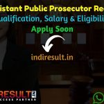UPSC Assistant Public Prosecutor Recruitment 2021 - upsc.gov.in 80 Assistant Public Prosecutor Vacancy Notification, Eligibility Criteria, Salary,Last Date.