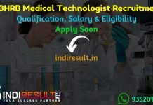 WBHRB Medical Technologist Recruitment 2021 - West Bengal 1647 Medical Technologist Vacancy Notification, Eligibility Criteria, Salary,Last Date,Online Form