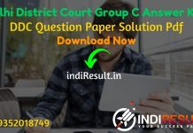 Delhi District Court Group C Answer Key 2021 - Download DDC Group C Peon Answer Key pdf & DDC Answer Key with Question. Answer key of Delhi Court Group C
