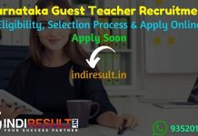 Karnataka Guest Teacher Recruitment 2021 - Apply Online School Education Karnataka 3473 Guest Teacher Vacancy Notification, Salary, Eligibility Criteria,