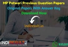 MP Patwari Previous Question Papers - Download MP Patwari Previous Year Paper 2019 Pdf, Madhya Pradesh Patwari Old Papers 2017, MP Patwari Question Papers.