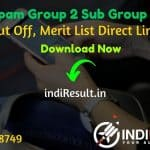 MP Vyapam Group 2 Sub Group 4 Result 2021 - Download MPPEB Group 2 Sub Group 4 Result, Cut off & Merit List. MP Group 2 Sub Group 4 Result Date 05 May 2021.