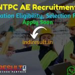 NTPC AE Recruitment 2021 - Apply NTPC 230 Asst Engineer & Asst Chemist Vacancy, Notification, Eligibility Criteria, Age Limit, Salary, Qualification.
