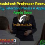OPSC Assistant Professor Recruitment 2021 – Apply OPSC Odisha Assistant Professor Vacancy Notification, Eligibility Criteria, Age Limit, Salary,Last Date.