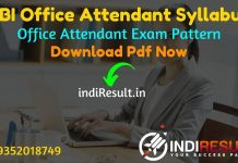 RBI Office Attendant Syllabus 2021 - Download RBI Office Attendant Exam Syllabus Pdf in Hindi/English & Exam Pattern, RBI Office Attendant New Syllabus