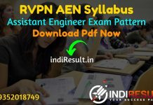 RVPN AEN Syllabus 2021 - RVPNL AE Syllabus pdf Download & RVPN Assistant Engineer Civil, Electrical, Electronics, Mechanical Syllabus & Exam Pattern,