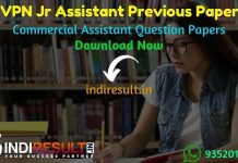 RVPN Junior Assistant Previous Question Papers - Download RVPNL Junior Assistant Previous Year Question Papers pdf. Get RVPN JA Question paper old Papers.