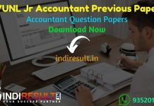 RVUNL Junior Accountant Previous Question Papers - Rajasthan RVUNL Junior Accountant Previous Year Question Papers pdf. JVVNL Avvnl Jr Accountant Old Paper
