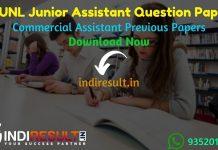 RVUNL Junior Assistant Previous Question Papers - Download Rajasthan RVUNL Junior Assistant Previous Year Question Papers pdf.JVVNL AVVNL RVUNL JAOld Paper