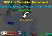 SHSB Lab Technician Recruitment 2021 - Apply SHSB Bihar Lab Technician Vacancy Notification, Eligibility Criteria, Age Limit, Salary,Qualification,Last Date