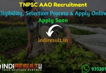 TNPSC AAO Recruitment 2021 - Apply TNPSC Assistant Agriculture Officer Vacancy Notification, Eligibility Criteria, Age Limit, Salary,Last Date,tnpsc.gov.in
