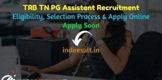 TN TRB PG Assistant Recruitment 2021 - Apply TRB 2207 PG Assistant Vacancy Notification, TRB PG Eligibility Criteria, Age Limit, TN TRB PG Salary, Date.