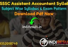 UKSSSC Assistant Accountant Syllabus 2021 - Download Uttarakhand Assistant Accountant Syllabus pdf in Hindi.UKSSSC Syllabus & Exam Pattern 2021.