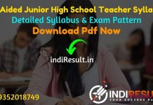 UP Aided Junior High School Teacher Syllabus 2021 - Download UP Junior Teacher Syllabus Pdf in Hindi/English. Get UP Aided Junior High School Syllabus Pdf
