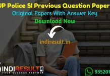 UP Police SI Previous Question Papers - Download UP Police SI Previous Year Question Papers pdf. Get UP SI Old Previous Year Paper. SI Question Paper Pdf