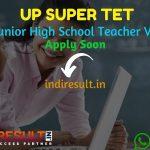UP Aided Junior High School Teacher Recruitment 2021 - Apply UP 1894 Aided Junior High School Teacher Vacancy Notification,Junior Teacher Eligibility,Salary