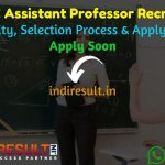 UPHESC Assistant Professor Recruitment 2021 - UPHESC 2003 Assistant Professor Vacancy Notification, UP Assistant Professor Eligibility Criteria, Salary,Fee.
